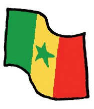 Index vlag senegal