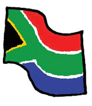 Index vlag z afrika