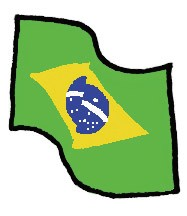 Index vlag brazilie