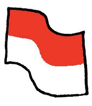 Index vlag indonesie