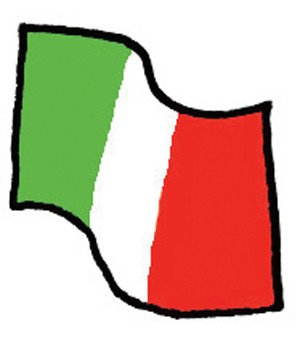 Index vlag italie