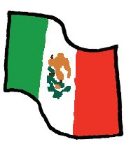 Index vlag mexico