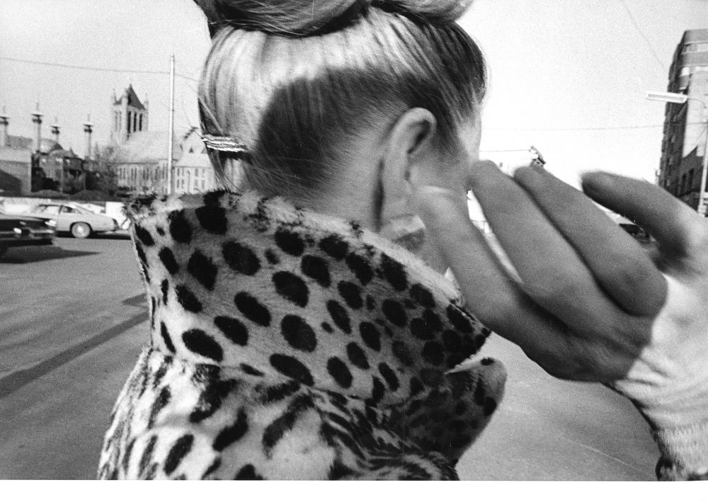 Medium cohen ear hand leopard coat 1975