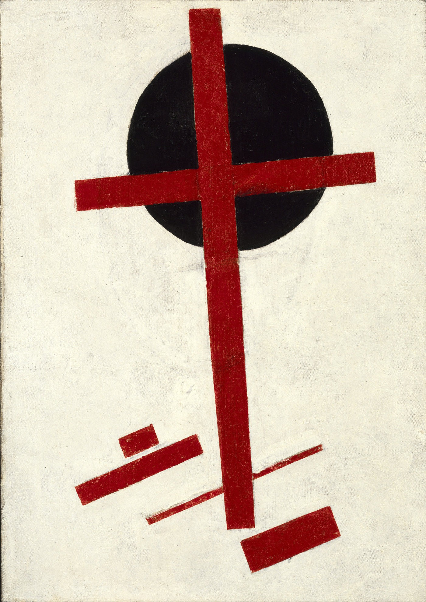Medium 1 20malevich 20mystic suprematism  red cross on black circle  2c 1920 1922 2c oil on canvas 2c 72 2c5 x 51. collection stedelijk museum amsterdam original