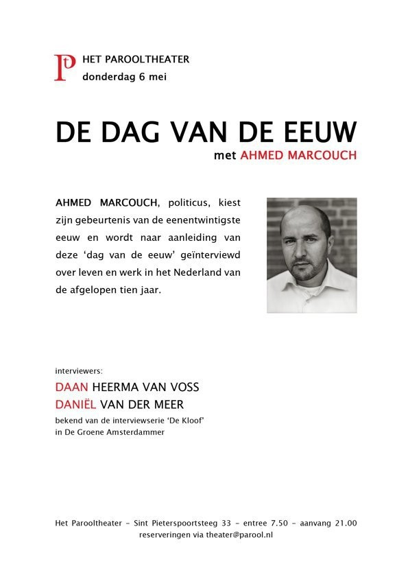 Medium de dag van de eeuw ahmed marcouch def