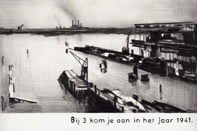 Medium marcel van eeden   tekening haven