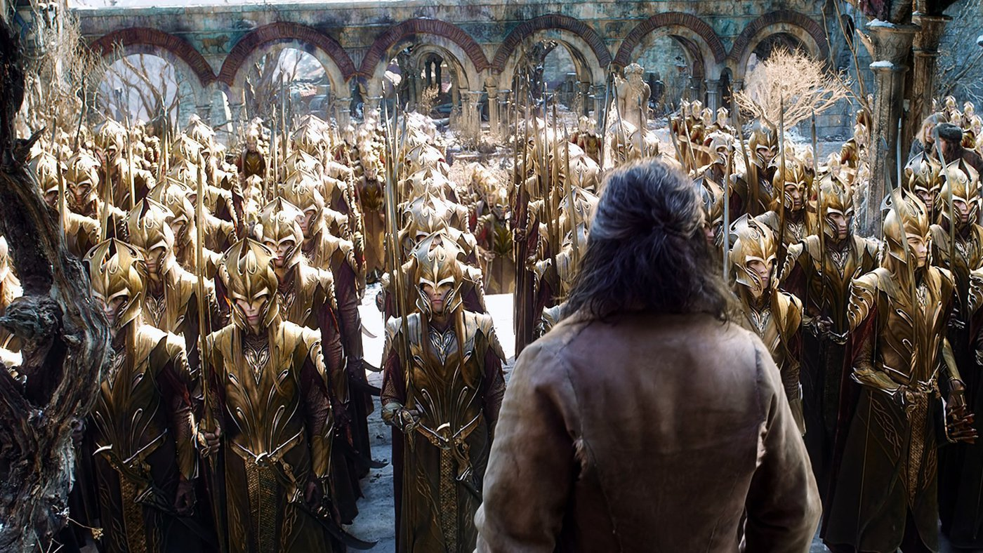 Medium the hobbit the battle of the five armies