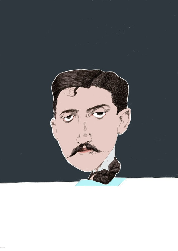Medium proust drawing color
