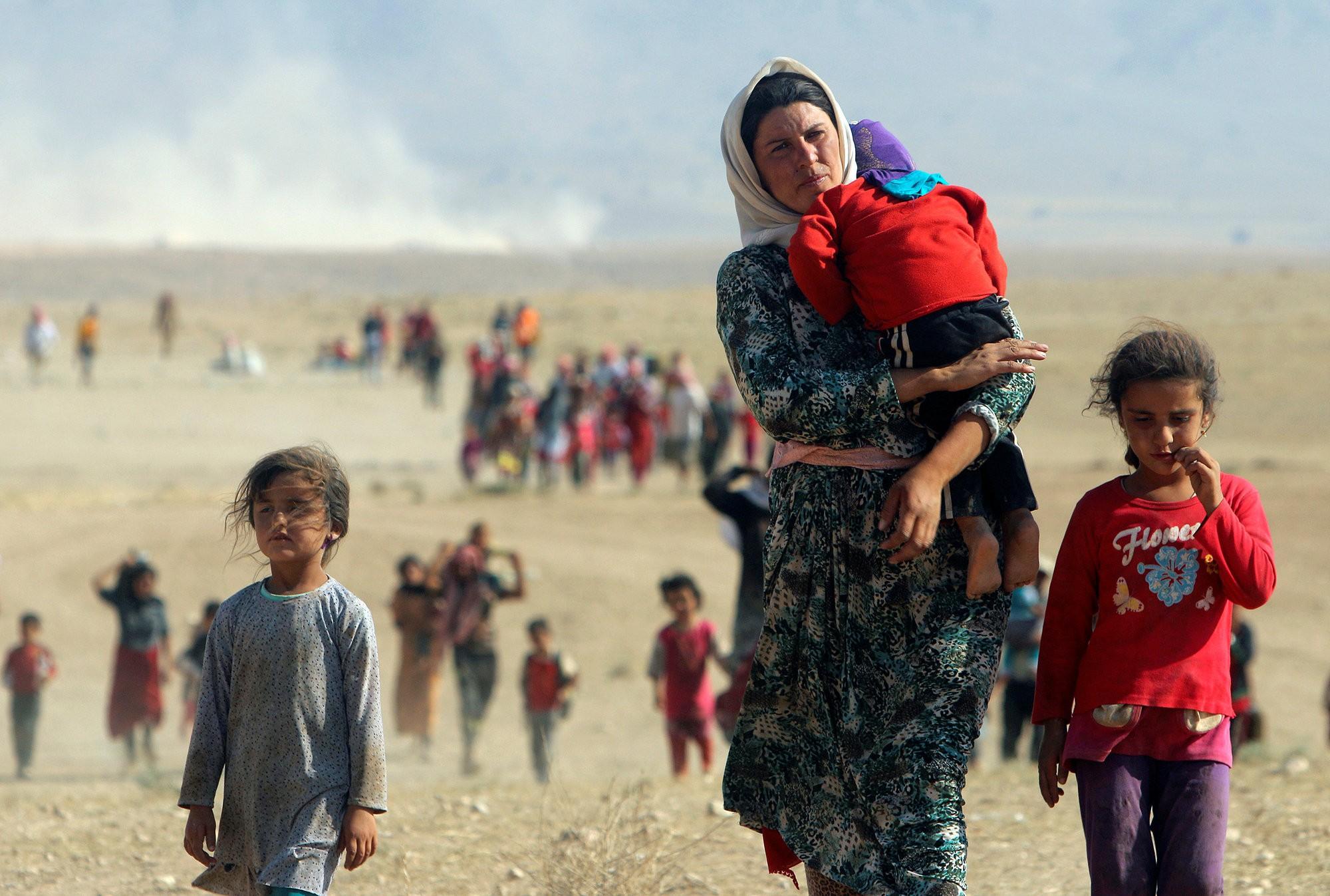 Jezidi-vrouwen  Bevrijd, en nu? – De Groene Amsterdammer