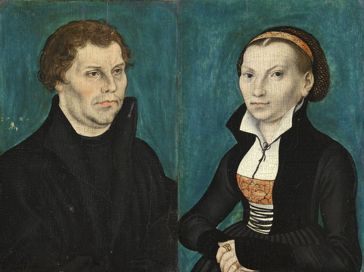 Medium lucas cranach the elder   bildnis martin luthers bildnis katharina luthers  1526  google art project