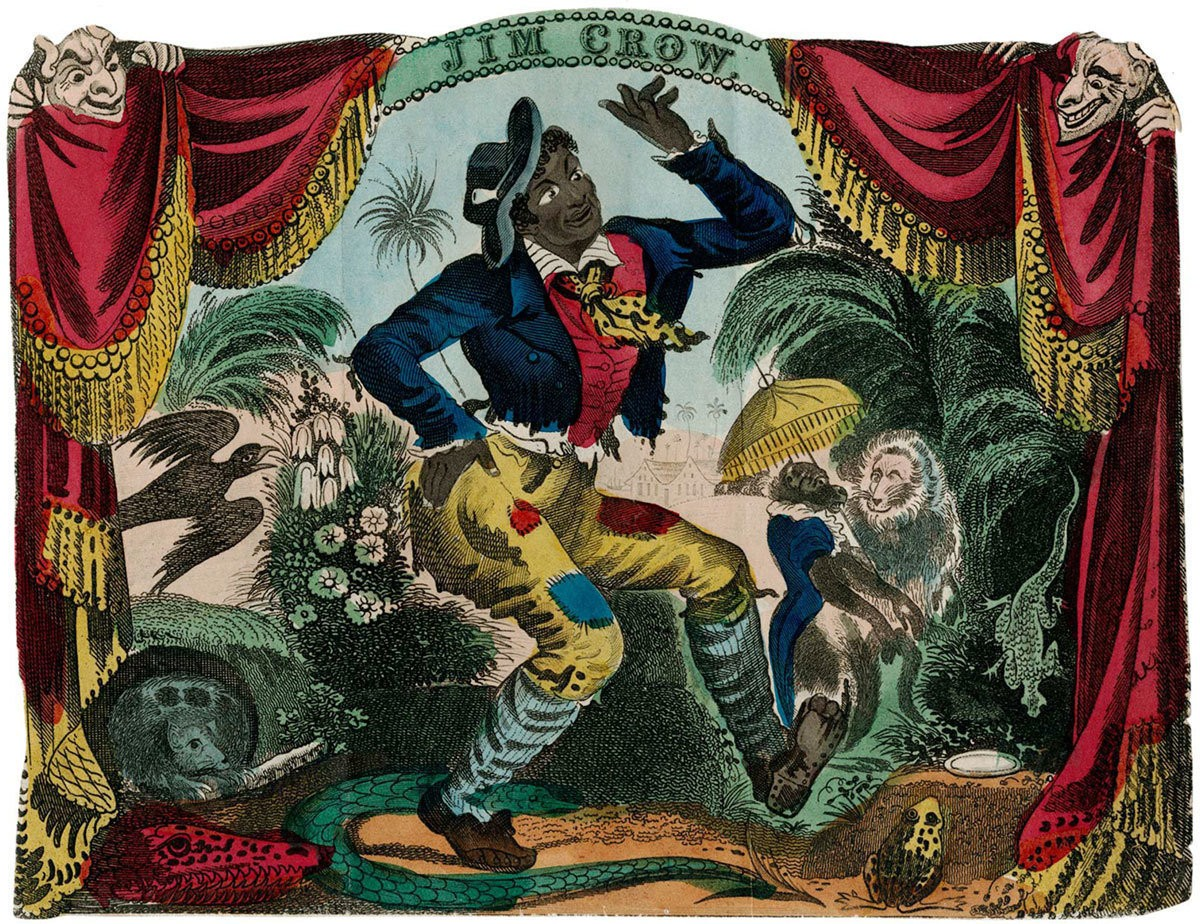 Medium thomas rice as jim crow at the bowery theatre new york 1833artotype