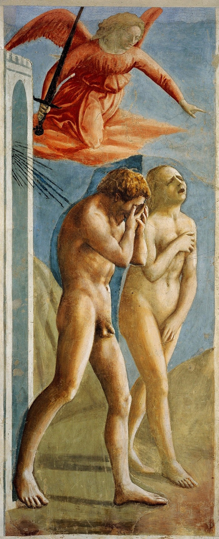 Small masaccio expulsion 1427