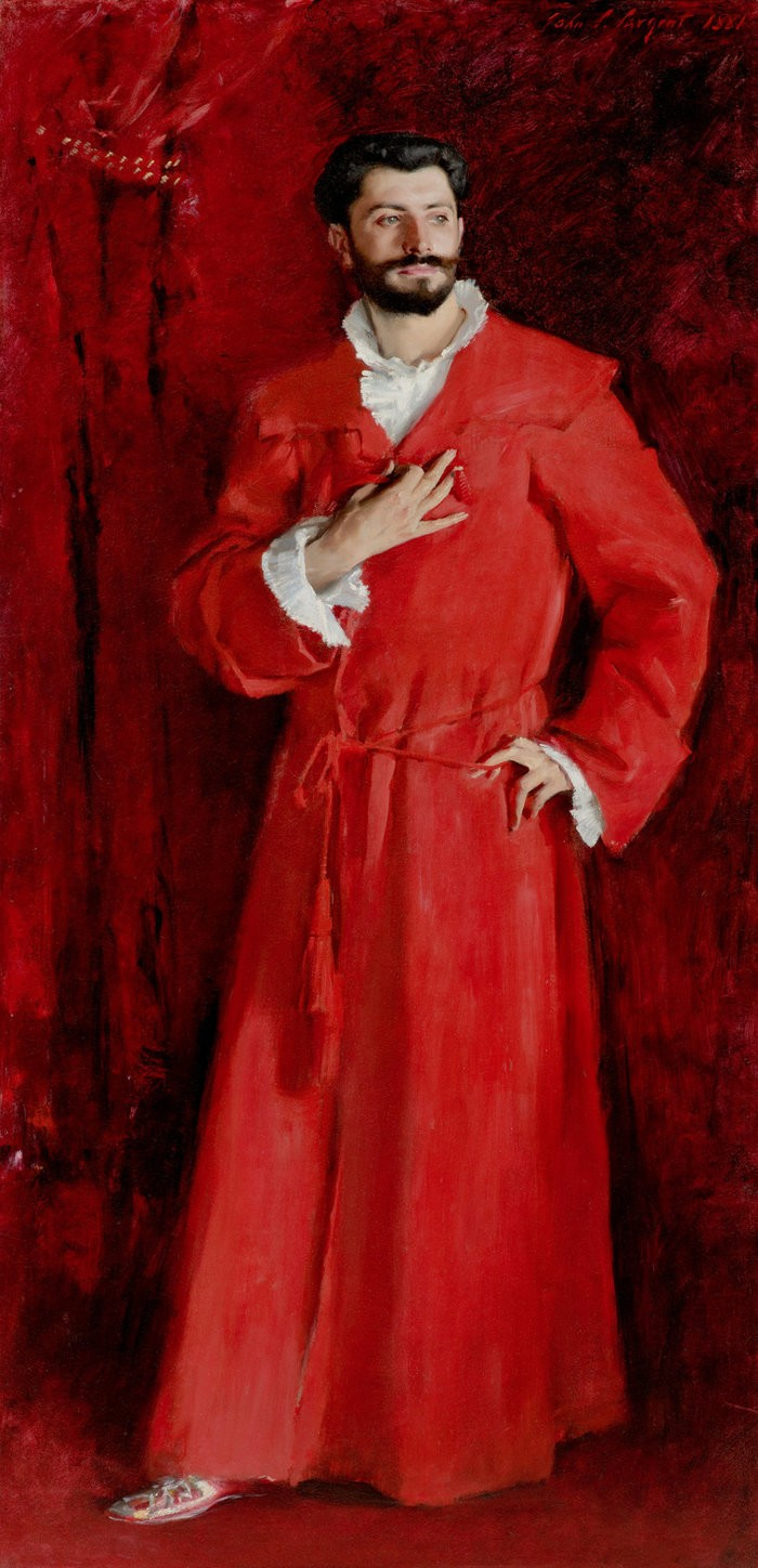 Small los angeles  the hammer museum john singer sargent  dr samuel jean pozzi