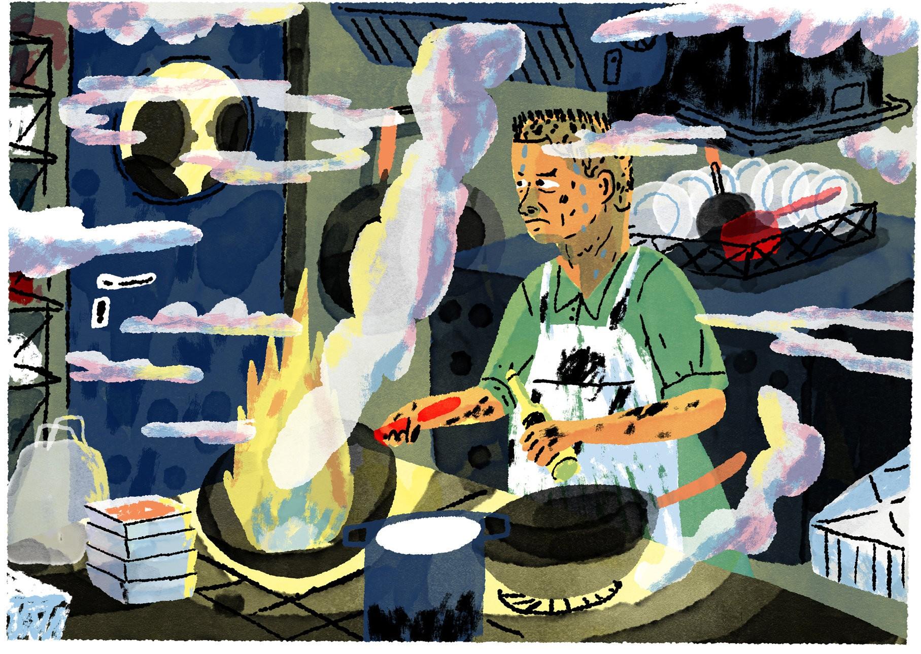 Moderne Kunst Keuken : Ik had mijn eigen huid in mijn handen u2013 de groene amsterdammer