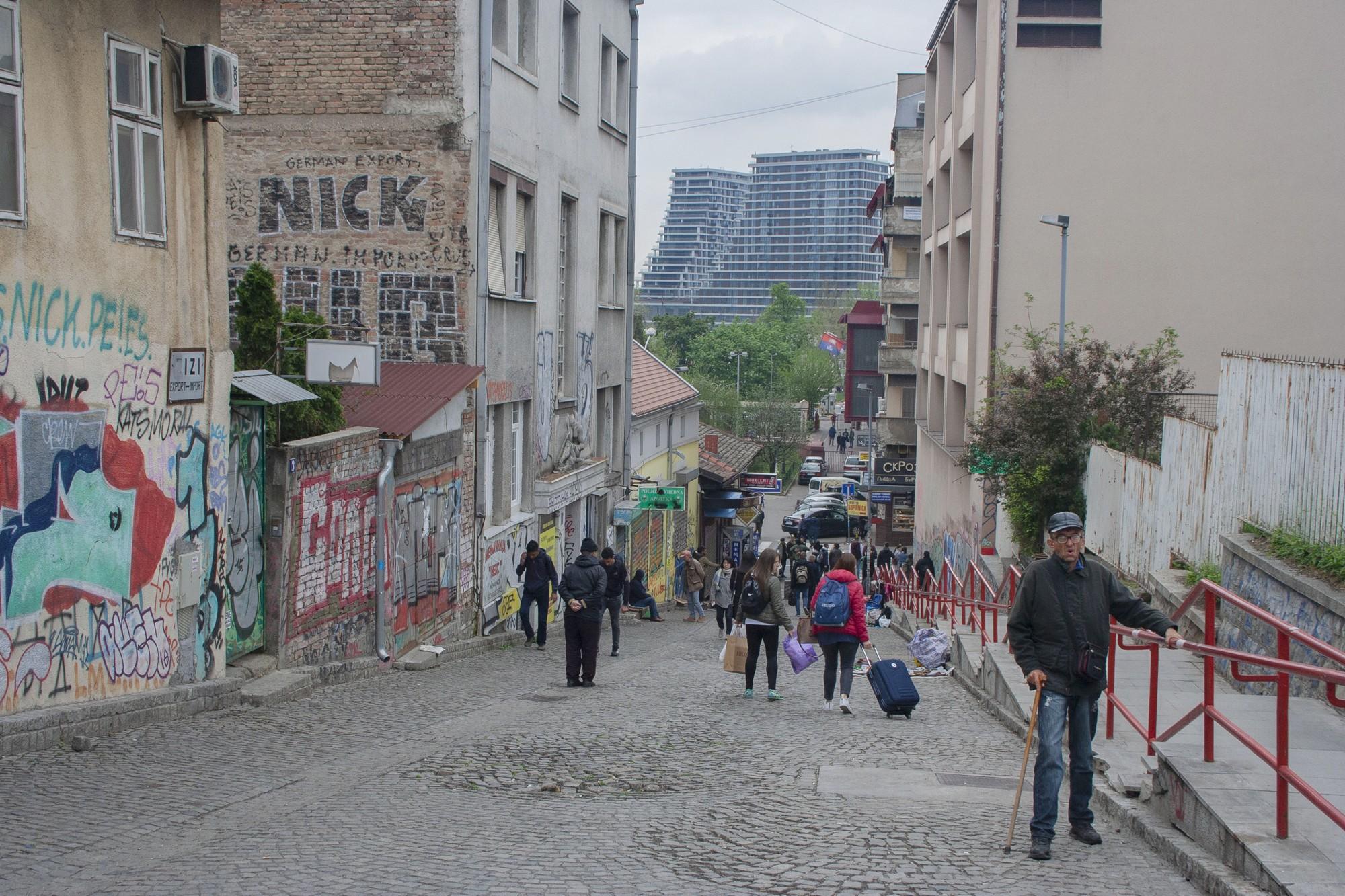 Belgrado aansluiting